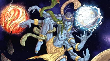 毁灭与轮回法则,印度诸神之黄昏,白马迦尔吉的预言传说。【印度教神话二季 第十五期】
