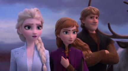 《冰雪奇缘2》 首发预告  女王领衔全员回归再续奇缘 @柚子木字幕组