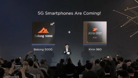 华为发5G基站核心芯片及5G终端基带芯片,并宣布MWC秀5G折叠手机