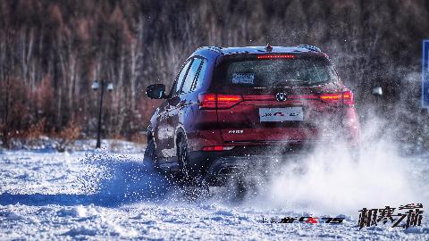 《极寒之旅》特技车手上线,带你看看新CS75的极限挑战