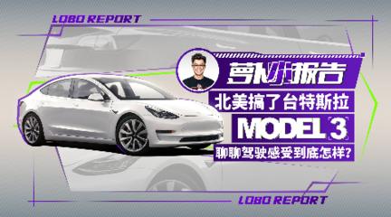 北美搞了台特斯拉Model 3 聊聊驾驶感受到底怎样?| 萝卜小报告
