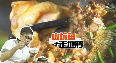 【品城记】山坑鱼跟走地鸡一锅焖,如此奇怪的组合,居然很好吃!