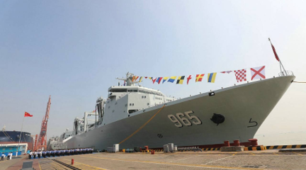 中国后勤力量走向远海大洋