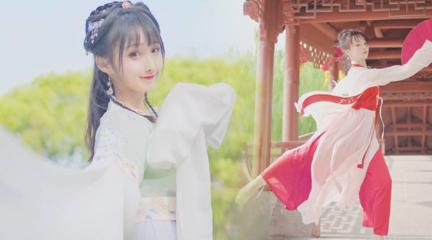 【晓丹】寒露 仙气水袖帅气折扇