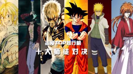 【TOP10】动漫中的十大师徒对决