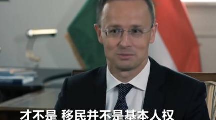 匈牙利外长:移民不是基本人权