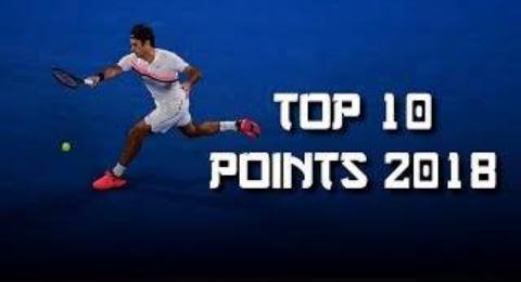 费德勒2018最佳击球TOP10