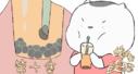 老板,再来一杯珍珠奶茶,作为一只吃货猫,饿起来我可是连空气都会吃的!