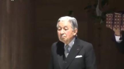 """日本天皇带""""神器""""赴伊势拜祖"""