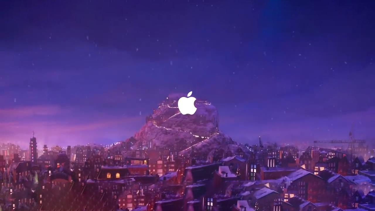 苹果圣诞短片幕后花絮曝光,看呆众网友!