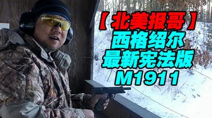 【报哥】西格绍尔宪法版M1911