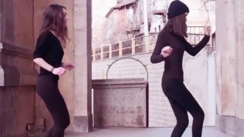 国外美女跳seve