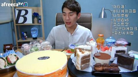 【韩国吃播】bj奔驰artisée迷你蛋糕 natuurpop单人杯×6 好市多地瓜