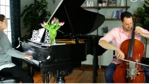 钢琴 大提琴演奏《faded》