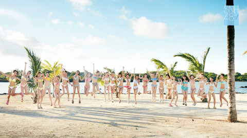 snh48泳装mv《梦想岛》舞蹈版!