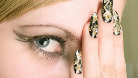 日常化妆视频教程2眼线与睫毛