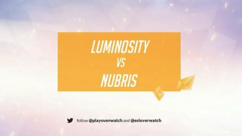 【川烈解说】守望先锋ESL北美8进4 LG vs Nubris
