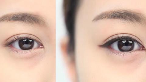 抹茶美妆:内眼线画法技巧