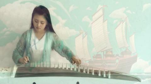 大鱼海棠古筝曲谱单手