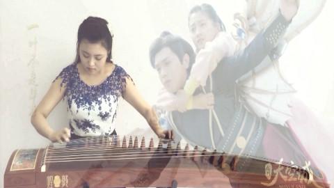 【插曲】关晓彤《音梦》--《九州古筝城》视频刘海刮天空图片