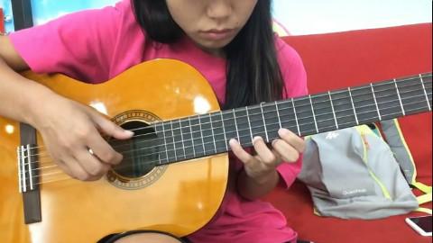 【吉他指弹】琵琶语 片段翻弹