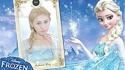 迪士尼公主系列:冰雪奇缘 艾莎仿妆