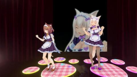 【vr视频体验/二次元/耳机福利】看着萌萌哒猫耳娘