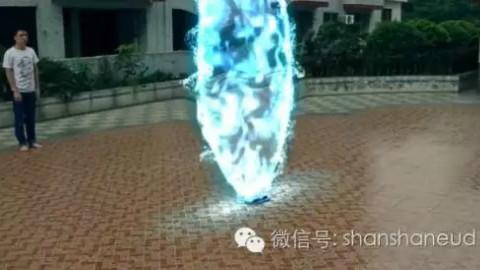 【AE特效传送教程】AE量合成门视频特效教视频咸菜盐图片
