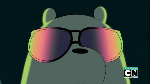 可爱qq封面长图裸熊熊