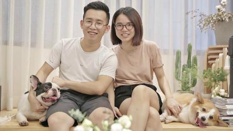 两个人,两只狗,一个54平米的家,一种向往的生活Part1
