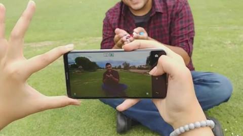 震惊!LG V30真人短片曝光 艾洛维智能投影上线Part1