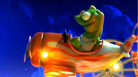 【CG动画短片--海龟-迈克尔】比较有趣的CG动画拍配上音乐又一番闹腾...