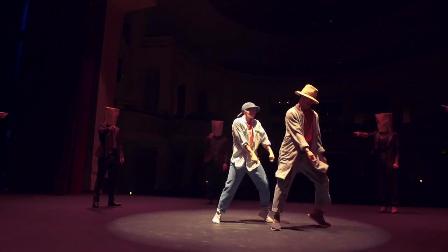 舞蹈界模范夫妇编舞功夫肯尼说唱神曲《DNA》,炫!