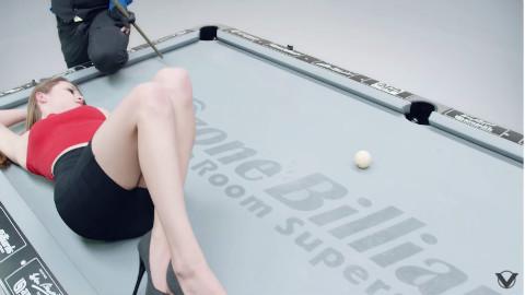 让你大开眼界的完美桌球技巧