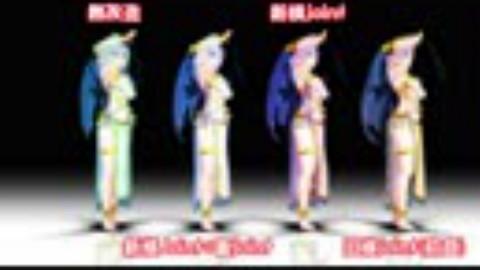 【MMD】桃源恋歌【电脑少女YouTuber小白Siro】(防旗袍穿模)之续作