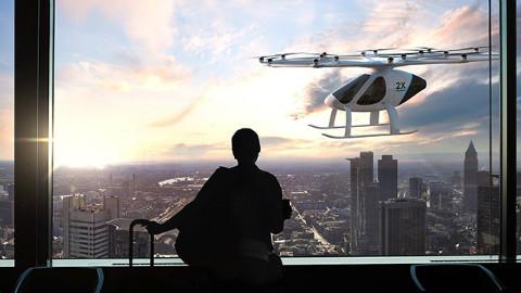 英特尔在CES发表纯电动两座直升机Part1