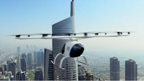 英特尔发布最安全的空中无人出租车,用手机就能召唤Part1