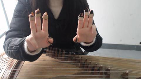 古筝入门:初学古筝第一步必学习古筝的摆放、坐姿及指甲如何佩戴?
