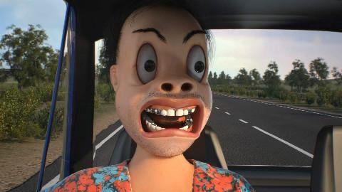 原创动画《老司机》