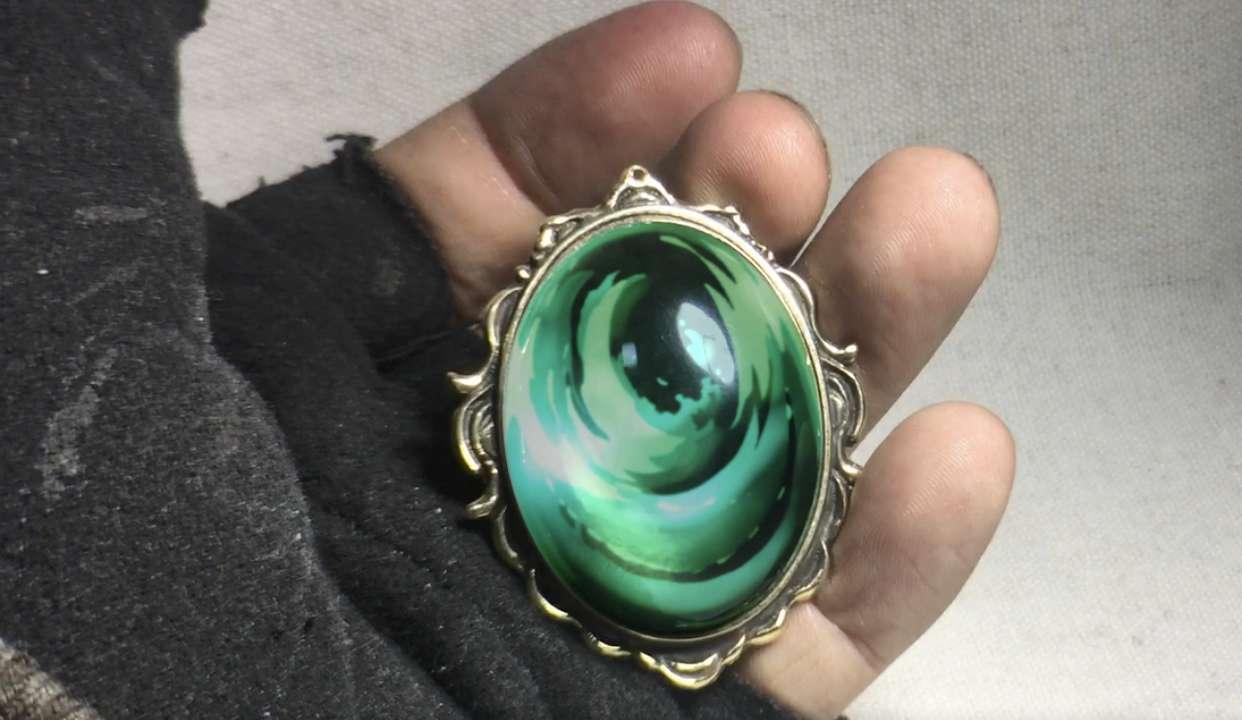 【极客匠】手最糙的UP却做出了最精致的宝石胸针,只为紫罗兰永恒花园中的那份爱和感动