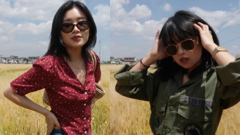 简直是向往的生活!两位小姐姐自驾到大理洱海,穿搭也很有看点!