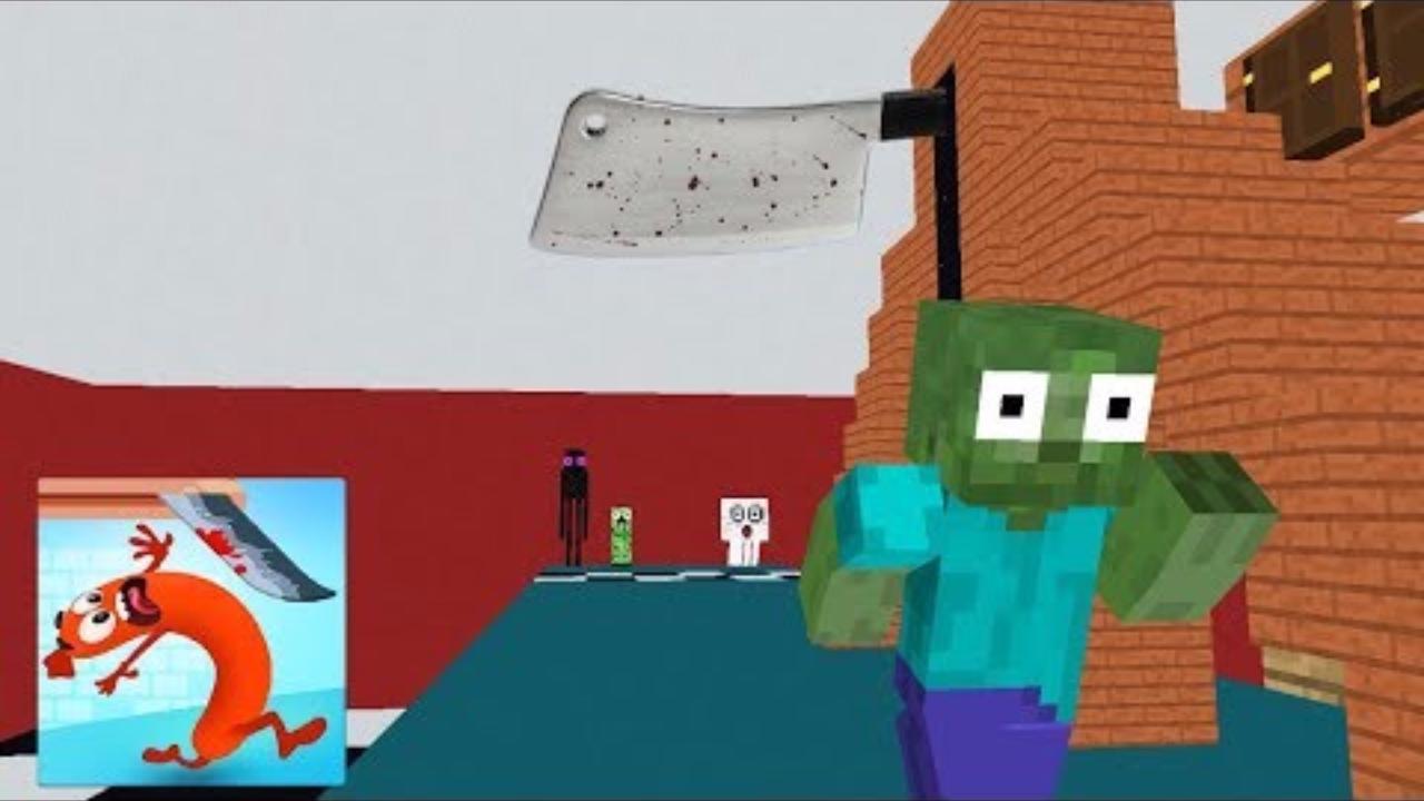 我的世界:怪物学院另类搞笑版奔跑吧香肠冒险游戏