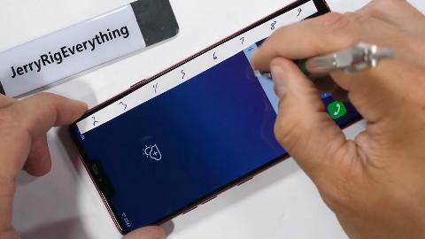 屏幕很强 边框惨不忍睹LG G7暴力测试