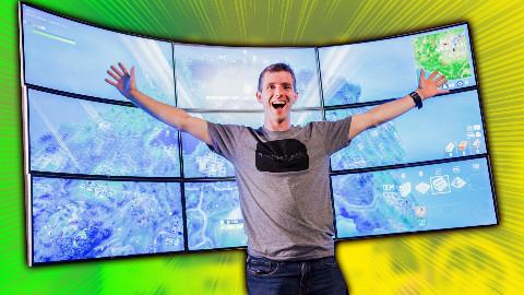 【官方双语】用10K超宽显示器玩堡垒之夜?!(LG赞助)#linus谈科技Part1
