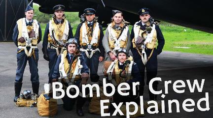 真人再现英国空军轰炸机组