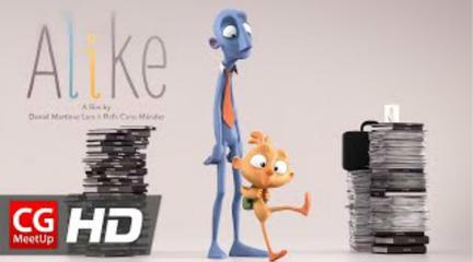 CGI动画短片:一点通,可爱的动画