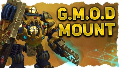 镀金版 G.M.O.D坐骑游戏内预览