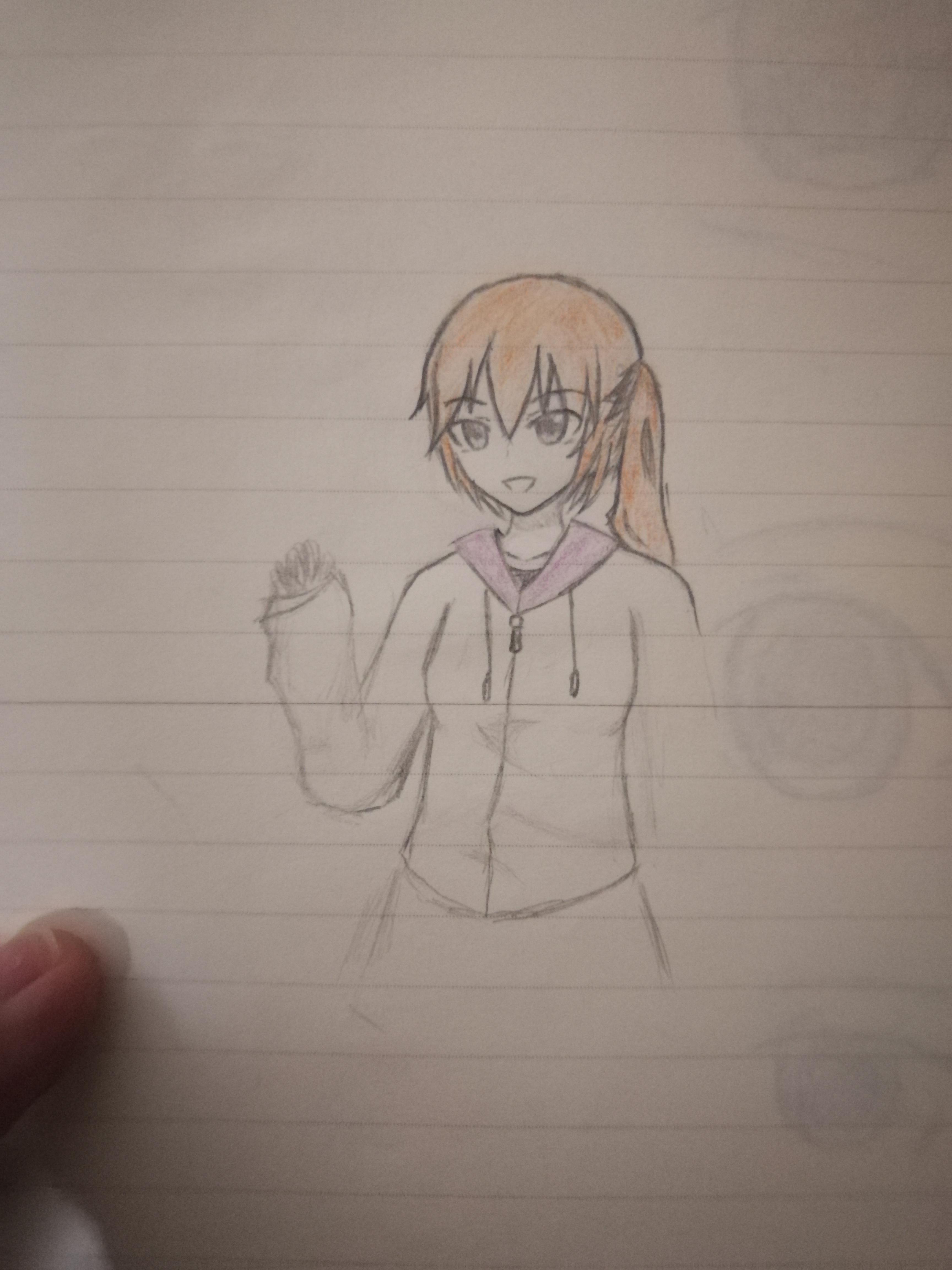大概是从小学二年级左右,开始画火柴人. 初中,我和一个好哥们一起画.