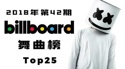「 Billboard舞曲榜 」42期