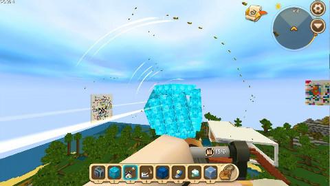 迷你世界: 能吸收子弹的超大磁铁, 子弹一靠近就会被吸住!